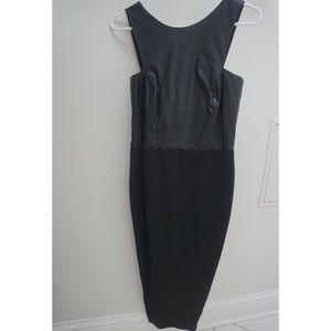Black Midi Zara Dress